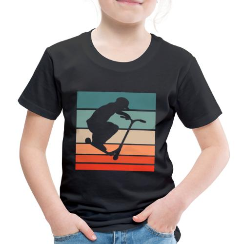Scooter Stunt Tretroller Stunts Rollerfahrer Trick - Kinder Premium T-Shirt
