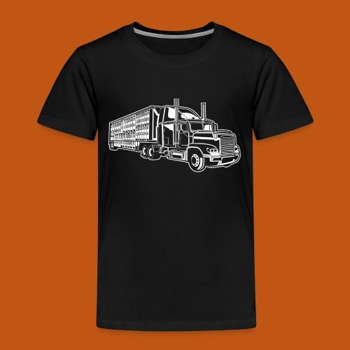 Truck / Lkw 01_weiß - Kinder Premium T-Shirt