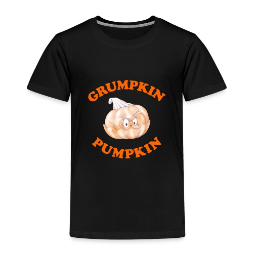 Grumpkin Pumpkin Halloween Night Fun Character - Kids' Premium T-Shirt
