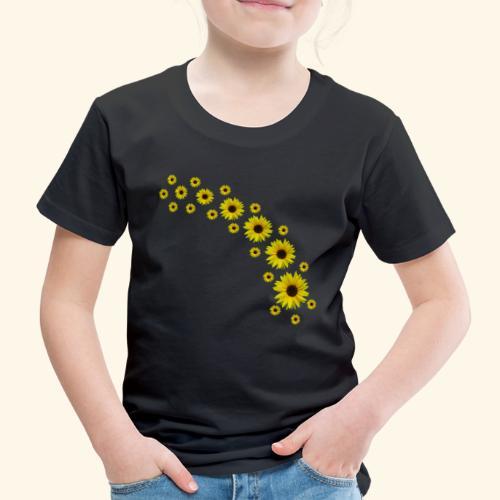 Sonnenblumen, Sonnenblume, Blumen - Kinder Premium T-Shirt