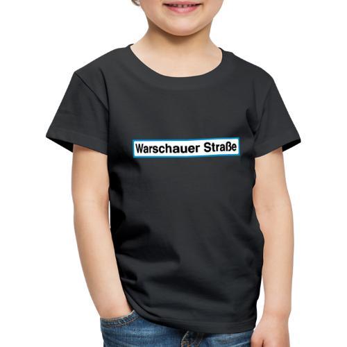 Warschauer Straße Berlin - Kinder Premium T-Shirt