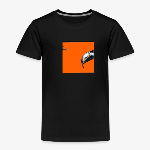 Beak Original Artwork - Premium-T-shirt barn