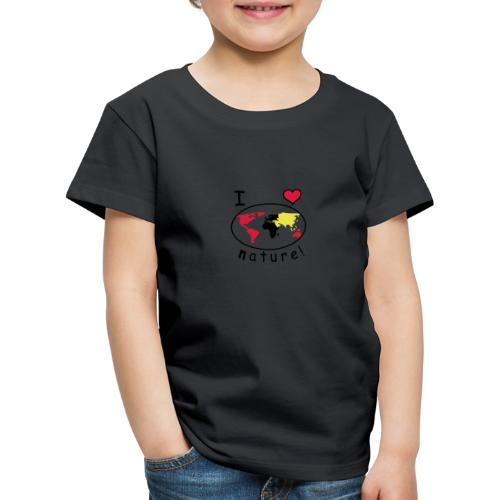 TIAN GREEN - I like Natur - Kinder Premium T-Shirt