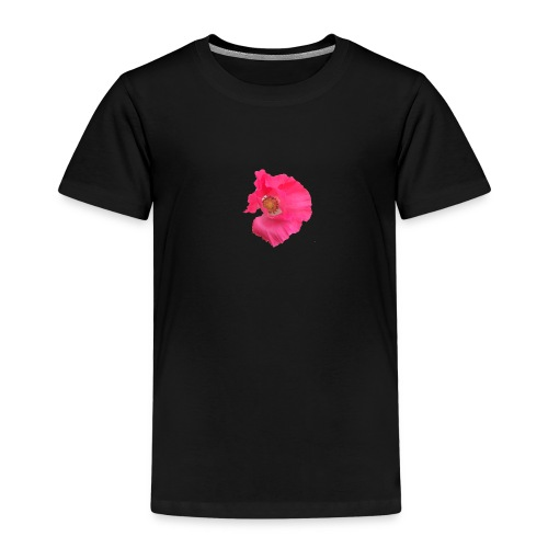 Mohnblume solo - Kinder Premium T-Shirt
