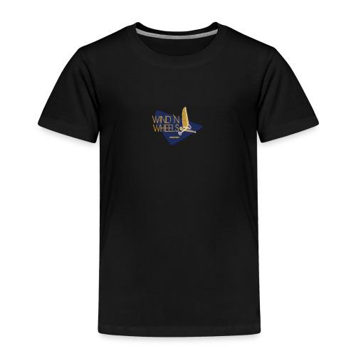 logobluegoldww png - Kinderen Premium T-shirt