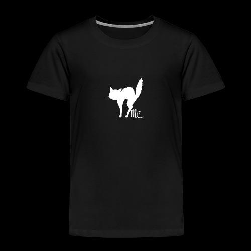 MidnightCat logo - Premium-T-shirt barn