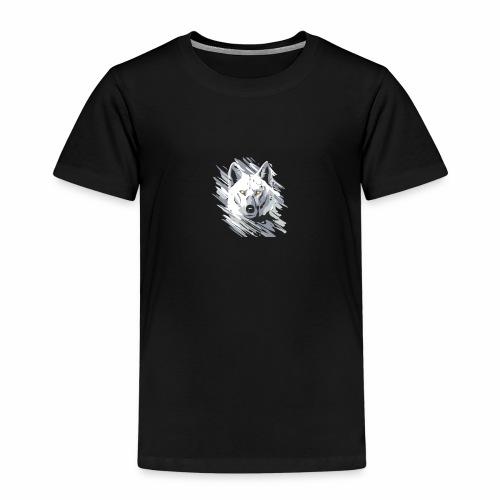 Wolf-logo_full - T-shirt Premium Enfant