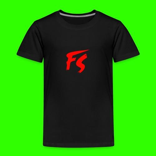 FS Logo rood - Kinderen Premium T-shirt