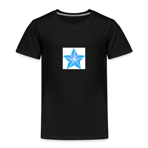 blue themed christmas star 0515 1012 0322 4634 SMU - Kids' Premium T-Shirt