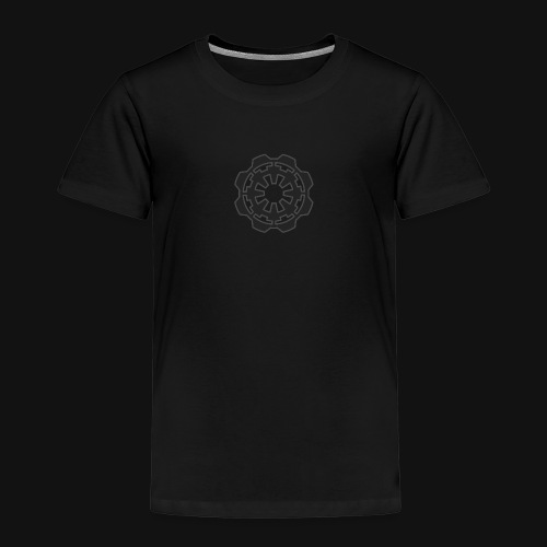 DarkerImage Black on Black (LIMITED) - Kids' Premium T-Shirt
