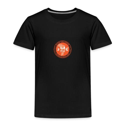 Duna Colligere Orange - Premium T-skjorte for barn