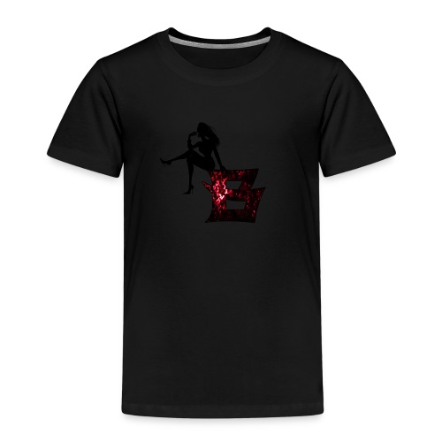 Sitting Woman Silhouette 2 png - Kinder Premium T-Shirt