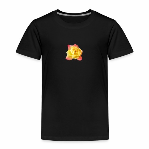 yellow rose - Kids' Premium T-Shirt