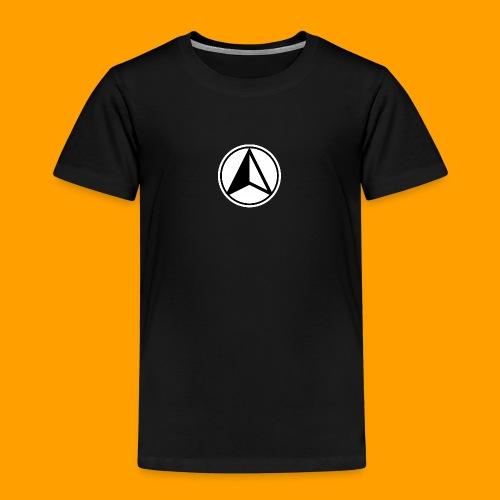 Black and White logo - Kids' Premium T-Shirt