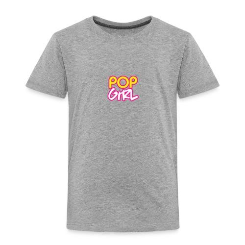 Pop Girl logo - Kids' Premium T-Shirt