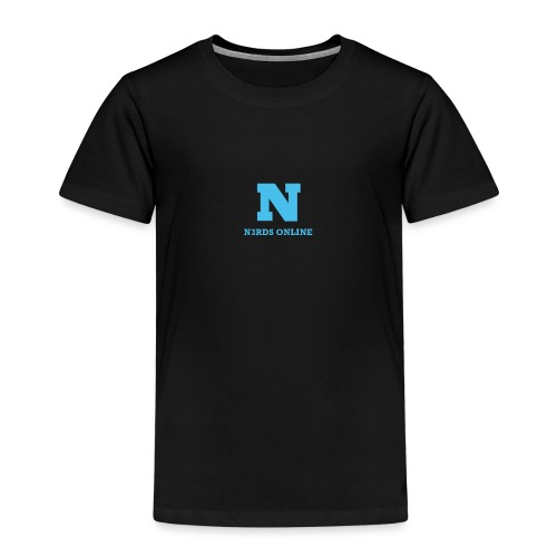 N3rds Logo Blue Small - Kids' Premium T-Shirt