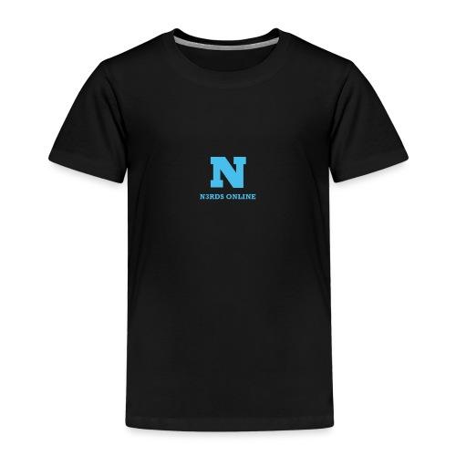 N3rds Logo Blue Small - Kids' Premium T-Shirt