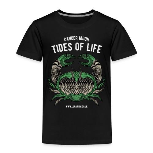 Cancer Moon Dark - Kids' Premium T-Shirt