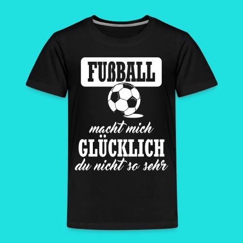 Fußball macht mich glückl - Kinder Premium T-Shirt