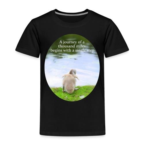 CygnetThousandMiles10mb - Kids' Premium T-Shirt