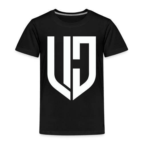 DJ VLC Logo White - Kids' Premium T-Shirt