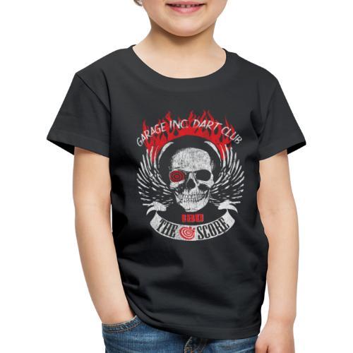 Dart Club Garage The Score 180 - Kinder Premium T-Shirt