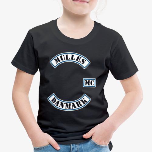 PRØVER - Børne premium T-shirt