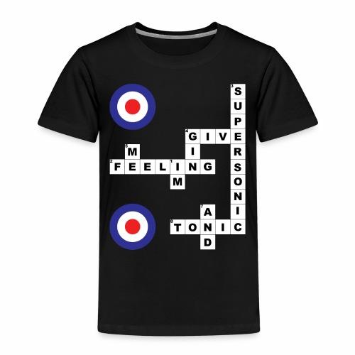 Supersonic - Crossword - Kids' Premium T-Shirt