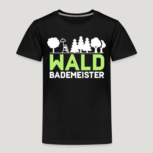 Waldbademeister für das Waldbaden im Waldbad - Kinder Premium T-Shirt