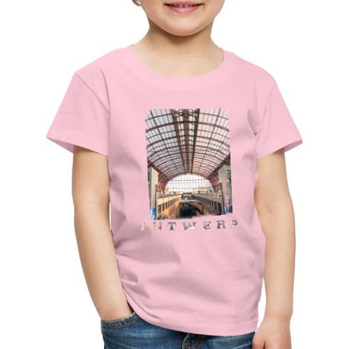ANTWERP CENTRAL STATION - Kinderen Premium T-shirt
