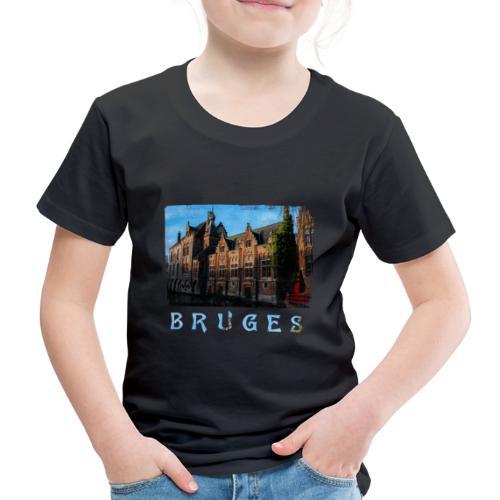Bruges | Old houses - Kinderen Premium T-shirt