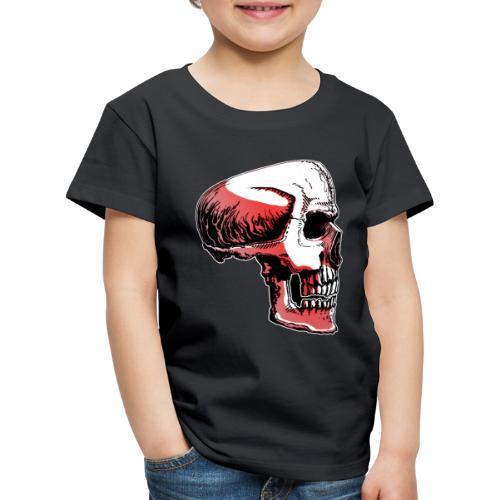 Crimewear© Skullside collored - Premium-T-shirt barn