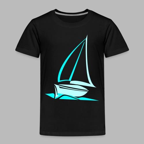 segelyacht - Kinder Premium T-Shirt