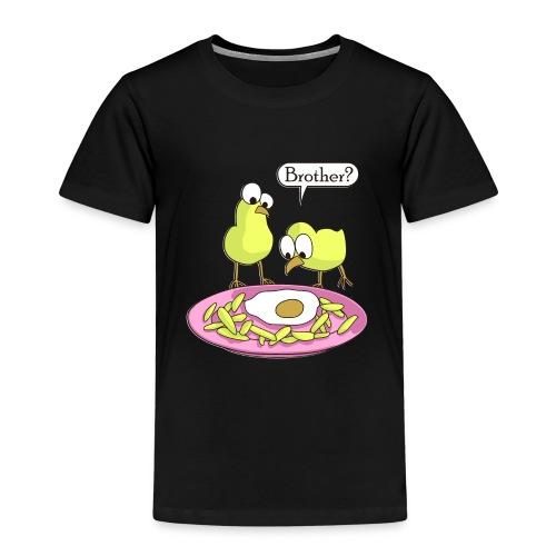 Küken Spiegelei Bruder Lustig - Kinder Premium T-Shirt