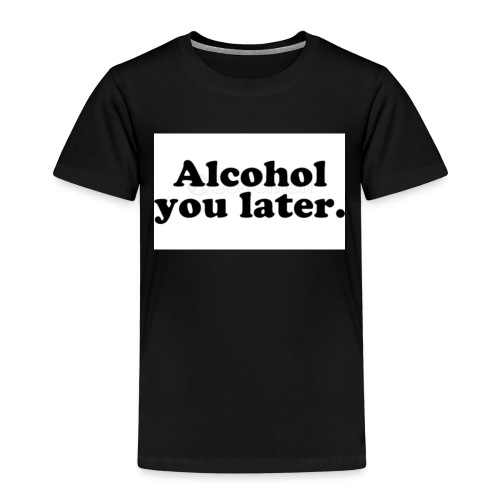 Alcool - T-shirt Premium Enfant