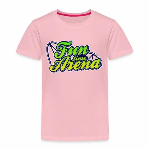 FunTime Schienen Front - Kinder Premium T-Shirt