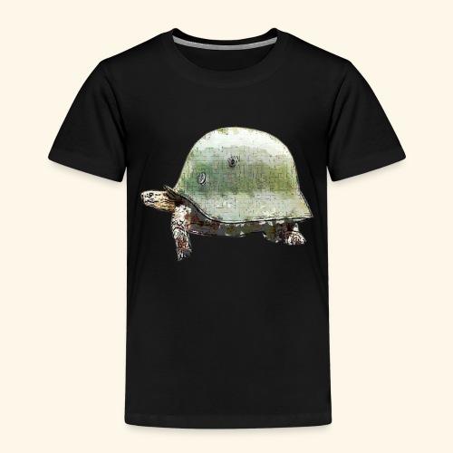TORTUGA CASCO MILITAR - Camiseta premium niño