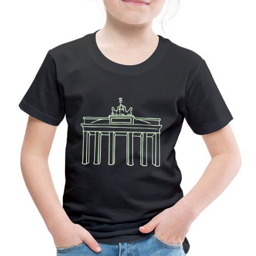 Porta di Brandeburgo a Berlino - Maglietta Premium per bambini