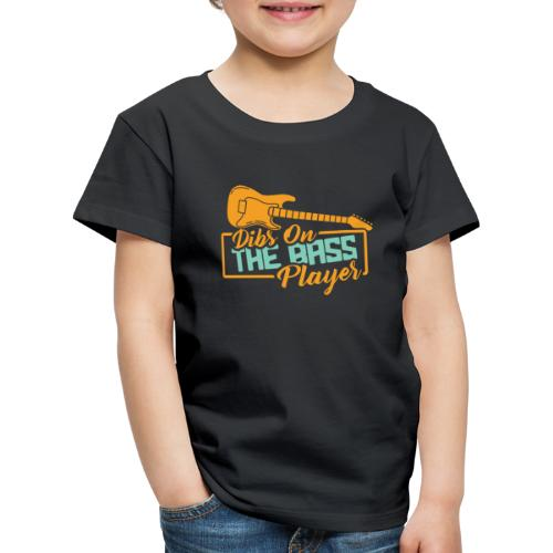 Bass Gitarre Musiker Musik Rock Gitarrist Bassist - Kinder Premium T-Shirt