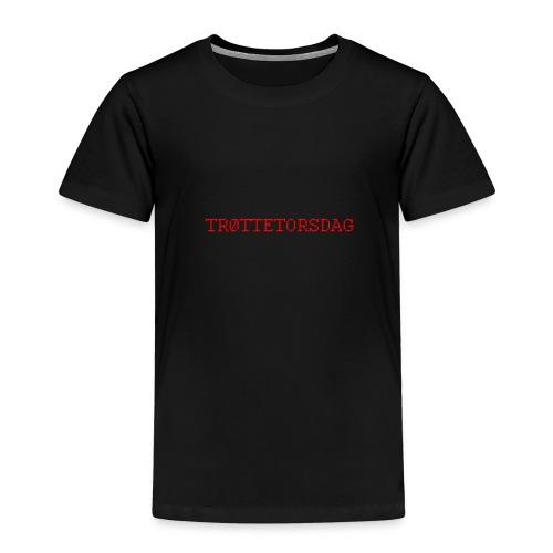 trOttetorsdag - Premium T-skjorte for barn