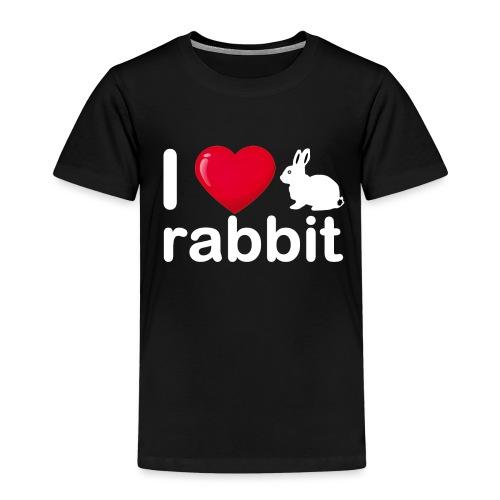 Zu nett Kaninchen i lieben weißes Kaninchen - Kinder Premium T-Shirt