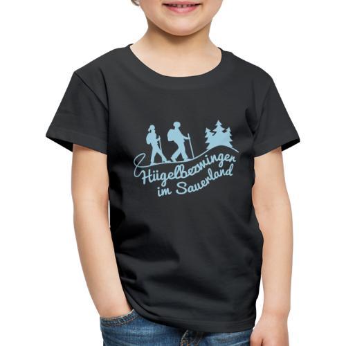 Hügelbezwinger Wanderer - Kinder Premium T-Shirt