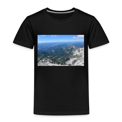 Der Dachstein aussicht - Kinder Premium T-Shirt