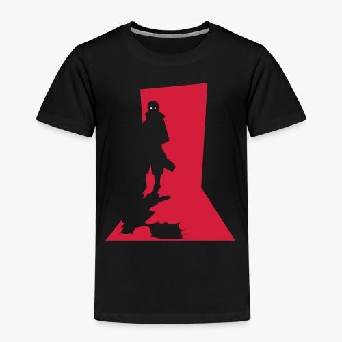 Monster in the Doorway - Børne premium T-shirt