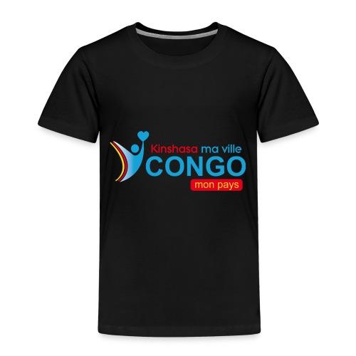 Kinshasa ma ville Congo mon pays - T-shirt Premium Enfant