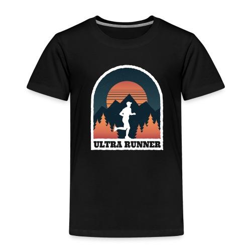 Ultralauf Ultra Runner Geschenk für Ultraläufer - Kinder Premium T-Shirt
