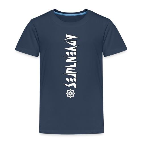 Jebus Adventures Vertical Stripe - Kids' Premium T-Shirt