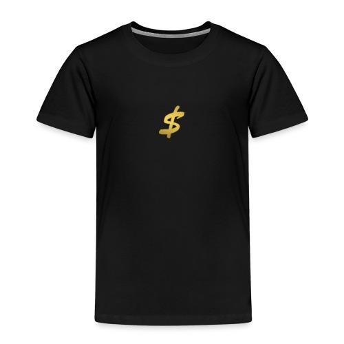 black n gold stax - Kids' Premium T-Shirt