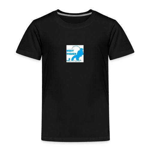 LOGO BEST FISHER - T-shirt Premium Enfant