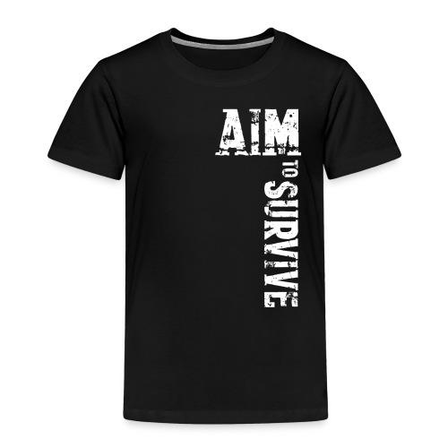 ATS weiß PNG - Kinder Premium T-Shirt